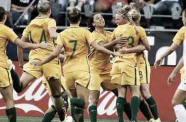The Westfield Matildas at the Tournament of Nations l Source: Twitter @TheMatildas