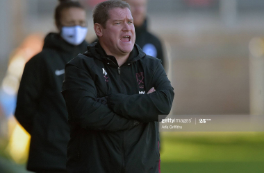 Matt Beard's thoughts after West Ham's home defeat to Brighton