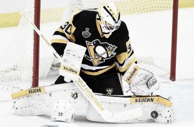 Matt Murray causa baja para los Penguins | Foto: nhl.com