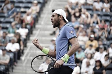 Berrettini bate Otte em quatro sets e elimina uma das zebras do US Open