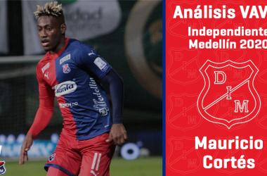 Análisis VAVEL, Independiente Medellín 2020: Mauricio Cortés