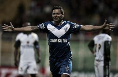 El 9 se lleva sus goles a Europa (FOTO: Pasión Libertadores)