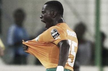 Yaya Touré came off with an injury.