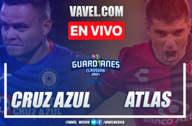 Resumen y goles: Cruz Azul 3-2 Atlas en Jornada 12 de la Liga MX Guard1anes 2021