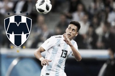 Maxi Meza acuerda contrato con Rayados