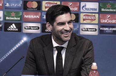 Paulo Fonseca elogia capacidade da Roma para superar pressão em vitória contra Verona