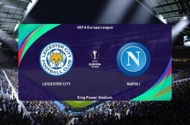 Resumen y mejores momentos del Leicester City 2-2 Napoli EN Europa League