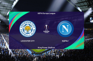 Summary and highlights of  Leicester City 2-2 Napoli  IN Europa League