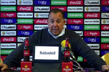 """Oriol Alsina: """"Merecimos la victoria y el Nàstic el empate"""""""