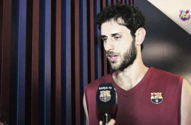 """Perperoglou: """"El Barça es ahora mi casa"""""""