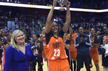 The West Is The Best At The WNBA All-Star Game