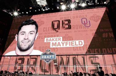 Top 10 del Draft 2018 de la NFL
