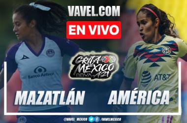 Resumen del Mazatlán Femenil 0-0 América Femenil en Apertura 2021 Liga MX Femenil