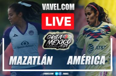 Highlights of Mazatlan Femenil 0-0 Amarica Femenil on Apertura 2021