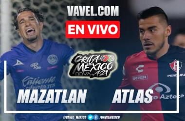 Gol y resumen del Mazatlán 1-0 Atlas en Liga MX
