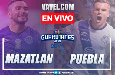 Goles y resumen del partido Mazatlán FC 1-4 Pueblaen Liga MX 2020