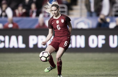 Morgan Brian will sit out this round of USWNT friendlies | Source: ussoccer.com