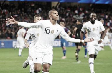 MBappe lideró la reacción de Francia ante Islandia. | Foto: FFF