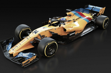 McLaren de Alonso para Abu Dhabi | Fuente: McLaren