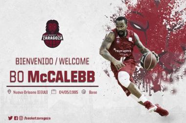 McCalebb tendrá una segunda oportunidad para brillar en Zaragoza/ Foto: Basket Zaragoza