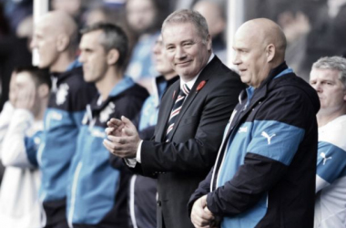McCoist guided Rangers to back-to-back promotions.