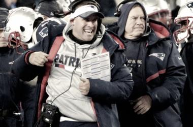 McDaniels, el plan A de los Colts, finalmente se queda en New England (Foto: Patriots.com)