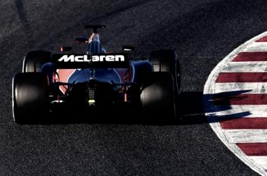 McLaren durante los test de pretemporada | Fuente: Twitter oficial de McLaren