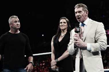 The McMahon's were in the main event segment. Photo- WWE.com