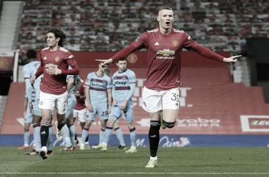 Manchester United vence West Ham na prorrogação e se classifica às quartas da FA Cup