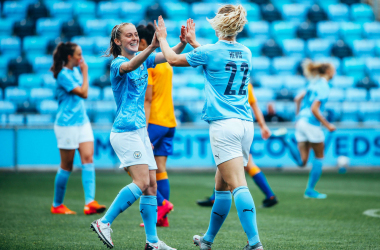 Manchester City 4-1 Everton: Mewis on the scoresheet in final friendly before Community Shield