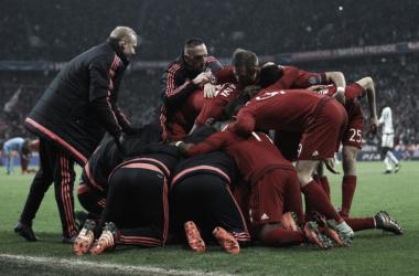 O Bayern de Munique apurou-se para os quartos-de-final da Liga dos Campeões // Foto: Facebook do FC Bayern Munchen