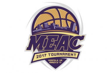 The Mid-Eastern Athletic Conference tournament logo: Photo/Seven Venues website