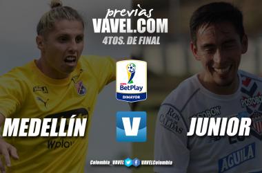 Previa Medellín vs Junior: reinicio de actividades por un tiquete a semifinales de Copa