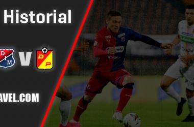 Historial Independiente Medellín vs. Deportivo Pereira: superioridad roja