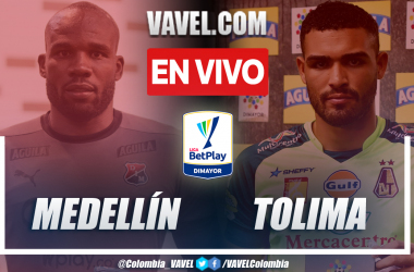 Resumen y goles: Medellín 2-2 Tolima en la fecha 15 por Liga BetPlay 2021-II