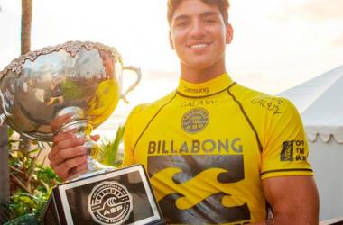 Gabriel Medina se corona como campeón del mundo de Surf
