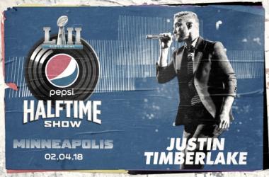Foto: Super Bowl Half Time Show de la página oficial de Justin Timberlake