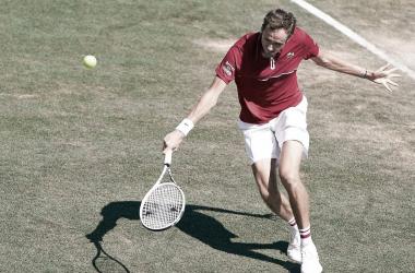 Daniil Medvedev venceu Corentin Moutet no ATP 250 de Mallorca 2021 (ATP / Divulgação)