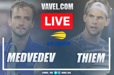US Open: Daniil Medvedev vs Dominic Thiem Live Score and Stream