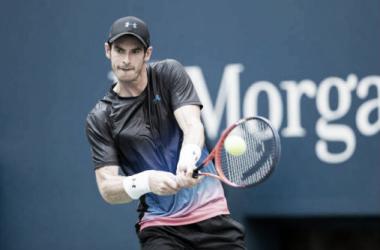 Andy Murray en una de sus pocas participaciones de este año. Foto: ATP.