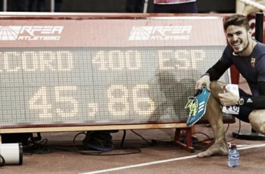 Oscar Husillos gran vencedor de la noche| www.rfea.com
