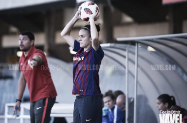 Melanie Serrano renueva con el Barça hasta 2020