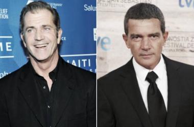 Mel Gibson y Antonio Banderas, nuevos mercenarios. (Foto (sin efecto): Screencrush).