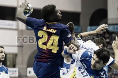 Resumen Barcelona Lassa (28-29) Fraikin Granollers por la jornada 26 de la Liga Loterías Asobal 17/18
