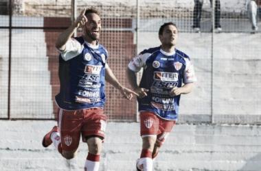 El delantero registra un gol en ocho partidos en este torneo. Foto: UNO Entre Ríos