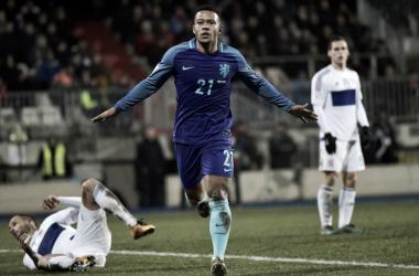 Memphis Depay | Foto:Koninklijke Nederlandse Voetbalbond