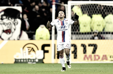 Memphis avec le maillot de l'OL (via IconSport)