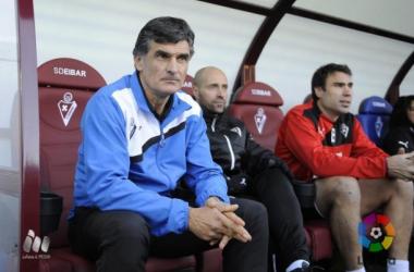 """Mendilibar: """"Todo ha sido bueno menos el resultado"""""""