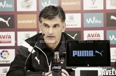 José Luis Mendilibar no quiere despistes