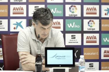 """Mendilibar: """"Hemos hecho una buena temporada"""""""